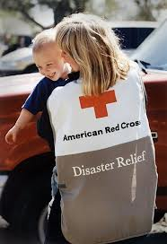 sandy red cross
