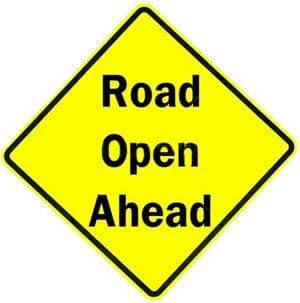 road-open