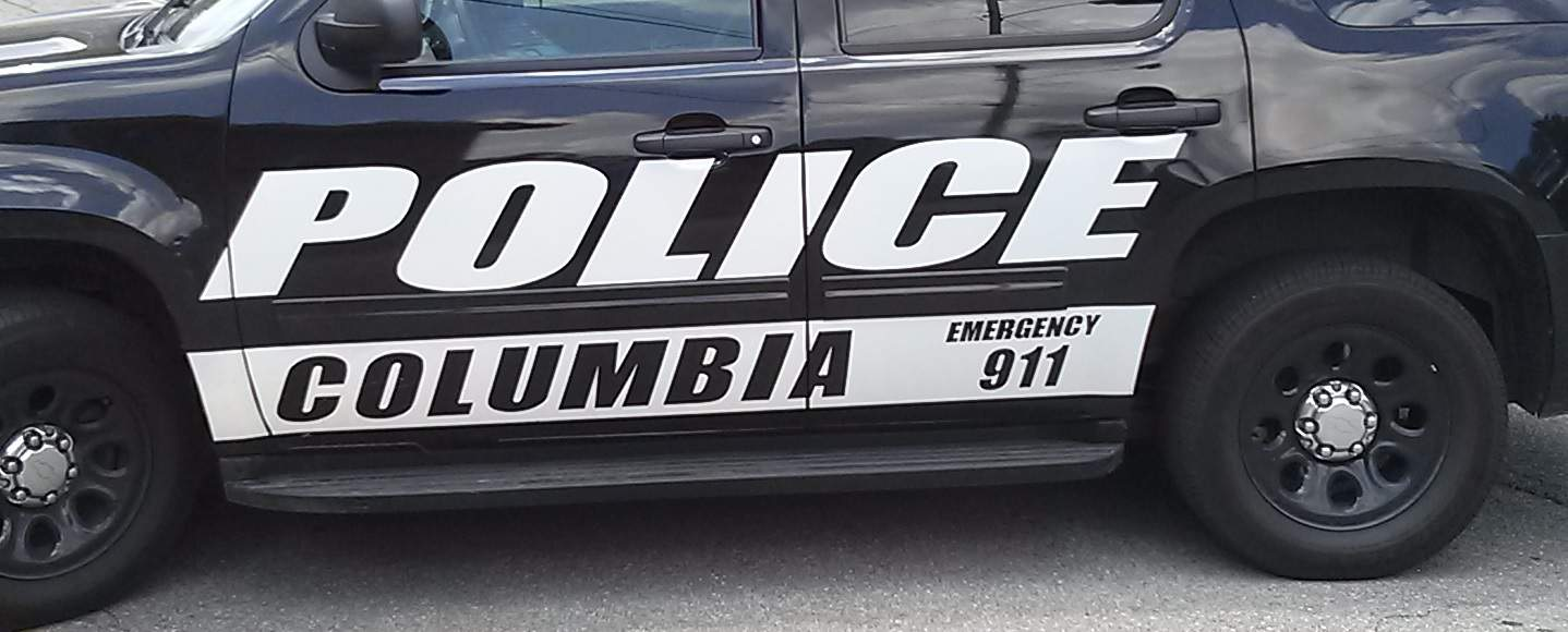 Columbia Police Car
