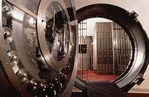 bank vault