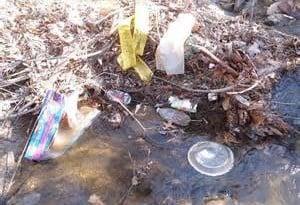 wears creek trash
