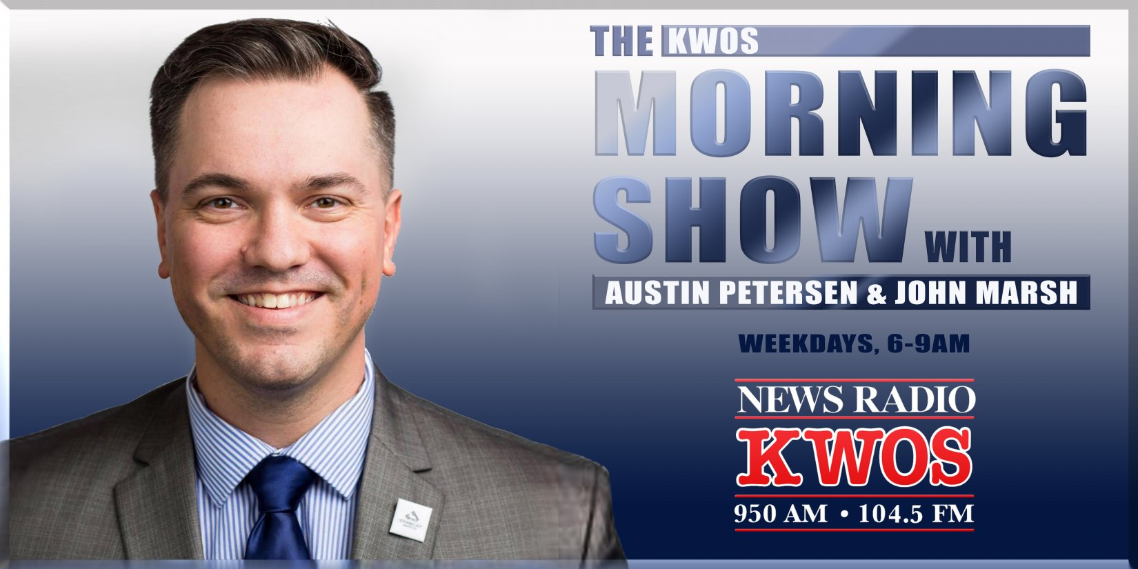 The KWOS Morning Show with Austin Petersen and John Marsh – KWOS